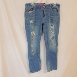 Hydraulic Bailey Womens Gramercydistressed jeans